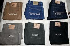 Ex M&S Mens Jeans Straight Leg Added Stretch Regular Fit Mark & Spencer RRp £39