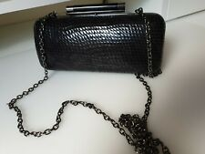 Next small clutch bag snakeskin print - used once