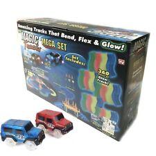 360pcs Magic Tracks Car Glow in Dark Racing for Kids Amazing Racetrack + 2 Cars