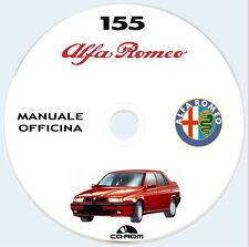 Manuale Officina Alfa Romeo 155 T.Spark e V6,testo Italiano