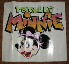 Wdw Totally Minnie Theme Park Decal