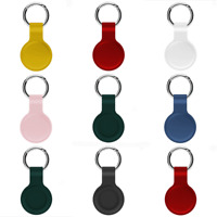 Silicone Protective Case Cover Shell with Keychain for AirTags Location Tracker
