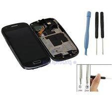 ECRAN LCD + VITRE TACTILE SUR CHASSIS POUR SAMSUNG GALAXY S3 MINI i8190 NOIR