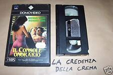 [4368] Il console onorario (1983) VHS 1° ed.