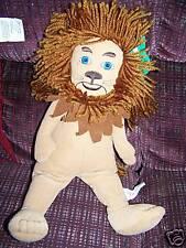 "15"" The Wizard of Oz Cowardly Lion Plush Stuffed Animal Toy Nanco EUC"