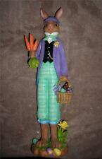 Lenox Dapper Rabbit Long,Thin Pencil Style Figurine-Resin-MSRP $134.00-COA-NIB