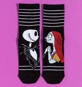 Official Jack and Sally The Nightmare Before Christmas Socks