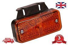 24 V LED Ambra Arancio Indicatore Luce Di Posizione Laterali rimorchio camion con staffa
