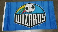 MAJOR LEAGUE SOCCER KANSAS CITY WIZARDS MLS TEAM FLAG BANNER