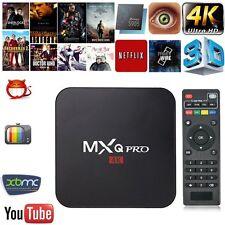 MXQ Pro 4K S905 Smart TV Box 64Bit 2.0GHz Quad Core Android 5.1 Sport 1G+8G