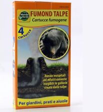 Repellente Fumond talpe roditori Astuccio 4 fumogeni mondo Verde
