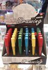 Drawing Art Mechanical Pencil -2B FLAT TYPE COLOR LEAD REFILLS CHOOSE ONE
