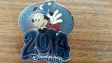 Mickey Sorcerer waving 2014 Disney Land Paris Dlrp Dlp 2013 3D Pin