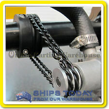 GO KART REMOVABLE WATER PUMP DRIVE BELTS QUICK CHANGE O RING - PAIR TWISTY BELTS