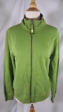 Roots 73 Athletics Zip Front Jacket Guacamole Green French Terry NEW sz XL