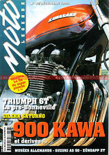 MOTO LEGENDE  97 KAWASAKI Z 900 1000 TRIUMPH 650 ZUNDAPP KS 50 80 GTS GILERA 500