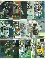 Tshimanga Tim Biakabutuka 36 Card Lot All Different See Scans NFL Football