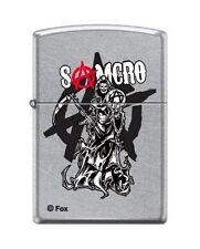 Zippo 7549 Sons of Anarchy SAMCRO Street Chrome Lighter