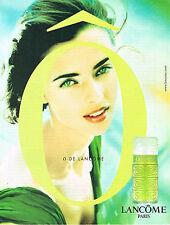 PUBLICITE ADVERTISING 074  1998  O  parfum de LANCOME