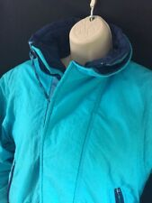 Obermeyer Jacket Women's Juniors Sz 14 Snow Ski Turquoise