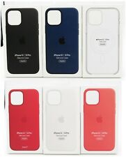 Genuine Apple Silicone Soft Case with MagSafe for Apple iPhone 12  iPhone 12 Pro