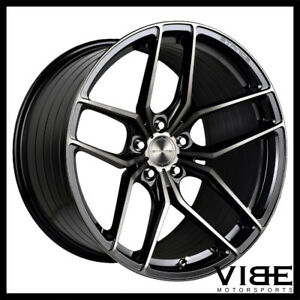 """19"""" STANCE SF03 BLACK FORGED CONCAVE WHEELS RIMS FITS INFINITI G35 COUPE"""
