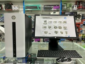 HP Pavilion 550-276na Desktop PC- Silver With -monitor Wireless Mouse & Keyboard