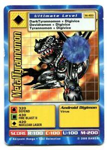 St-103 MetalTyrannomon Digimon Swedish Promo Card TCG Rare Digi-Battle Bandai PL
