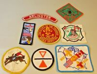 Lot of 8 RARE BOY SCOUT Minnesota Camping Patch BSA North Star Council