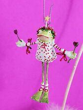 Krinkles Patience Brewster Fancy Bride Frog Ornament Valentine Dept 56