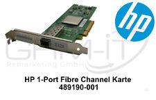 HP QLogic HBA Adapter 489190-001 8gb/s 1-Port Fibre Channel Karte