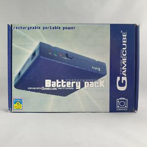 Nintendo Gamecube - Rechargeable Battery Pack Logic 3 Purple TFT NEW SEALED (1)