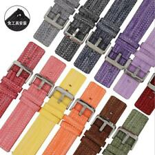 Nylon Fabric Canvas Wrist Smart Watch Band Strap Buckle Quick Release 18/20/22mm