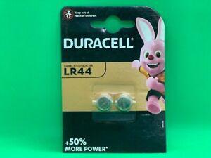DURACELL LR44 1.5V ALKALINE CELL BATTERY A76 AG13 GPA76 SR44