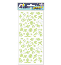 Glow In The Dark Outer Space - Stickers - Craft Planet - Fun Stickers