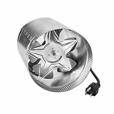Ipower Glfanxbooster6 Inline Ducting Booster Fan With Cord 6 Inch