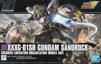 HGAC 1/144 Gundam Sandrock Gundam Wing Model Kit Bandai Hobby