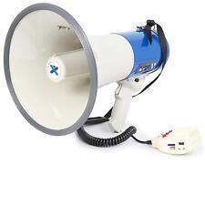 Mégaphone sur batterie fonction enregistrement + sirène - portée 1000m 65W MANIF