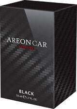 Air Freshener AREON Lux Perfume Black Line 50ml. Scent Tree Auto Scent Perfume