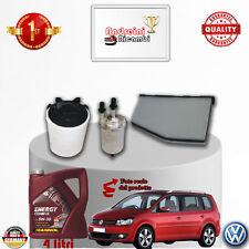 Filtres Kit D'Entretien + Huile VW Touran II 1.2 TSI 77KW 105CV à partir de 2014