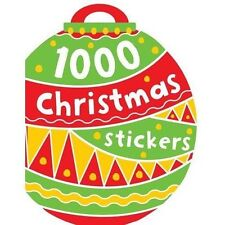 1000 Christmas Stickers -STICKER ACTIVITY BOOK FESTIVE- 9781782356325 A12