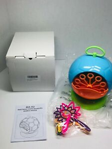 Bubble Machine for Kids Toddlers Bubbles Blower Wands Water Bubbles Maker
