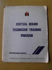 INTERNATIONAL TRUCK SERVICE MANUAL IH HARVESTER CANADA TECHNICAL TRAINING PROGAM