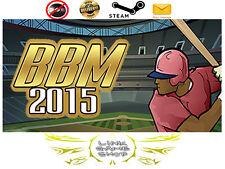 Baseball Mogul 2015 PC Digital STEAM KEY - Region Free