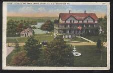 Postcard OTTER LAKE New York/NY  Tourist Hotel/Casino Aerial view 1910's