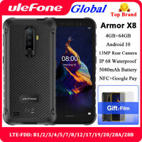 "Ulefone Armor X8 5.7"" 4G Rugged Unlocked Mobile Phone Android 10 64GB Smartphone"