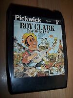 Roy Clark Take Me As I Am 8-Track