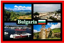 BULGARIA - SOUVENIR NOVELTY FRIDGE MAGNET - SIGHTS / FLAG - BRAND NEW - GIFT