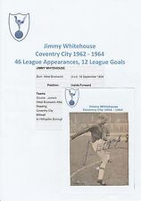 JIMMY WHITEHOUSE COVENTRY CITY 1962-1964 ORIGINAL HAND SIGNED NEWSPAPER CUTTING