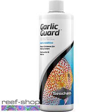Seachem Garlic Guard 500mL Finicky Fish Food Flavor Enhancer Marine Freshwater